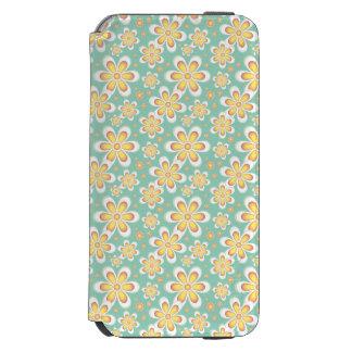 黄色および緑の花の箱 INCIPIO WATSON™ iPhone 5 財布型ケース