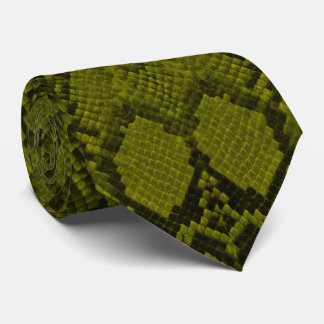 黄色および黒い大蛇のスネークスキンのハ虫類のスケール オリジナルタイ