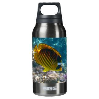 黄色および黒い天使の魚 断熱ウォーターボトル
