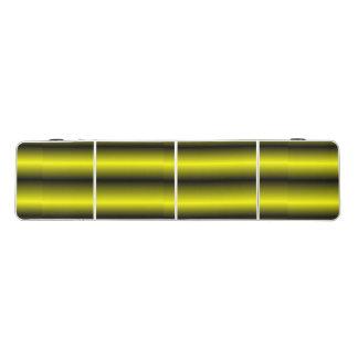 黄色および黒くストライプな《昆虫》マルハナバチのデザイン ビアポンテーブル