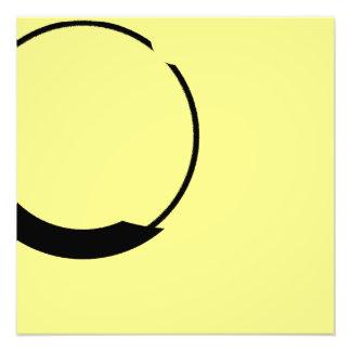 黄色および黒 フォトプリント