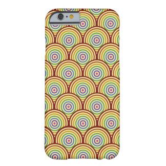 黄色くファンキーなレトロのデザイン BARELY THERE iPhone 6 ケース
