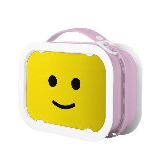 黄色く幸せなスマイリーフェイス ランチボックス