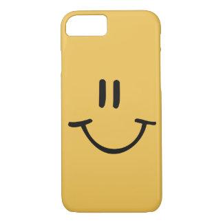 黄色く幸せな顔 iPhone 8/7ケース