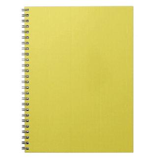 黄色く空白のな平野DIYのテンプレートは文字の写真を加えます ノートブック