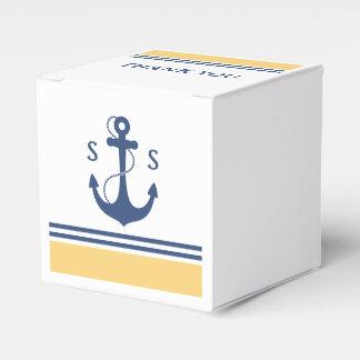 黄色く航海のなモノグラム フェイバーボックス