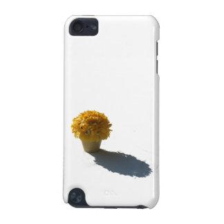 黄色によっては白いバケツおよび影の切り出しが開花します iPod TOUCH 5G ケース