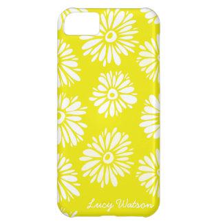 黄色によってはiPhone 5の箱が開花します iPhone5Cケース