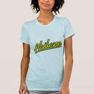 黄色のアビリン Tシャツ