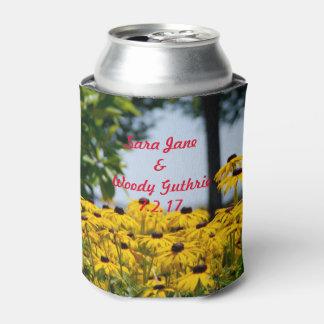 黄色のデイジー 缶クーラー