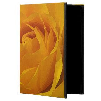 黄色のバラの花びらのPowisのiPadの空気2箱 Powis iPad Air 2 ケース