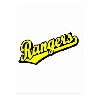 黄色のレーンジャー ポストカード