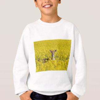 黄色の休閑地 スウェットシャツ