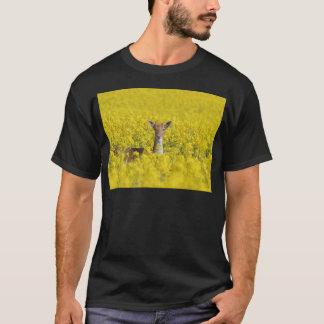 黄色の休閑地 Tシャツ
