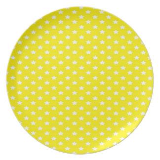 黄色の星 プレート