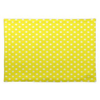 黄色の星 ランチョンマット