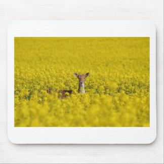 黄色の海 マウスパッド