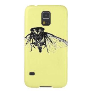 黄色の蝉 GALAXY S5 ケース