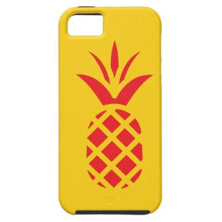 黄色の赤いマツApple iPhone SE/5/5s ケース