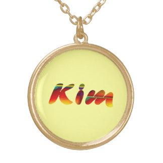 黄色の金のための金ネックレス ゴールドプレートネックレス