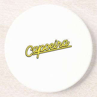 黄色のCapoeira コースター