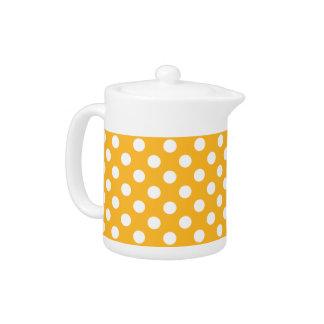 黄色のWhitleの水玉模様