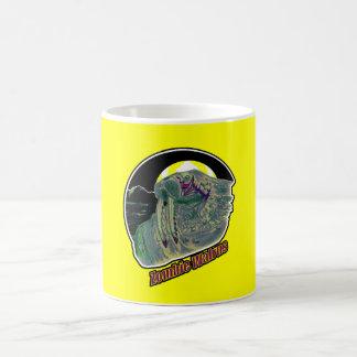 黄色セイウチのゾンビ コーヒーマグカップ