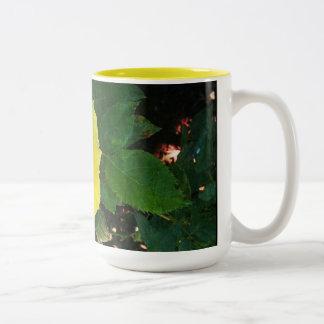 黄色バラのマグ ツートーンマグカップ