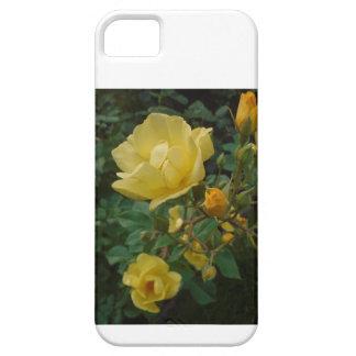 黄色バラの花のbohoの素朴な女性のiphoneの場合 iPhone SE/5/5s ケース