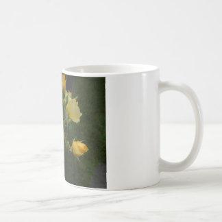 黄色バラのbohoの花の素朴なギフトgor彼女のマグ コーヒーマグカップ