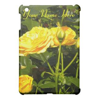 黄色バラのiPadの場合 iPad Mini Case