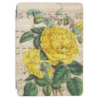 黄色バラ音楽 iPad AIR カバー