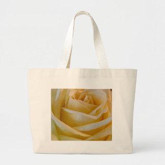 黄色バラ ラージトートバッグ