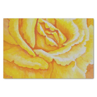 黄色バラ 薄葉紙