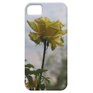 黄色バラ iPhone SE/5/5s ケース