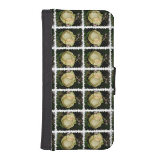 黄色バラ iPhoneSE/5/5sウォレットケース