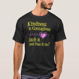 、黄色伝染性 Tシャツ