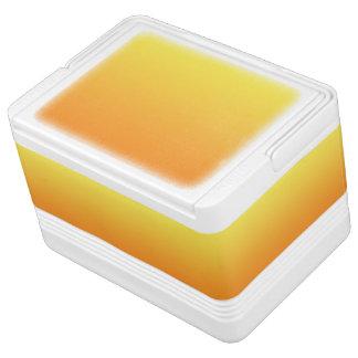 黄色及びオレンジグラデーション IGLOO クーラーボックス