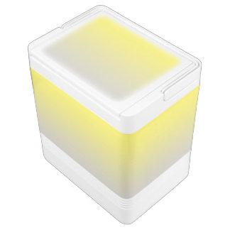 黄色及び灰色のグラデーション IGLOOクーラーボックス