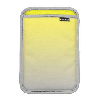 黄色及び灰色のグラデーション iPad MINIスリーブ