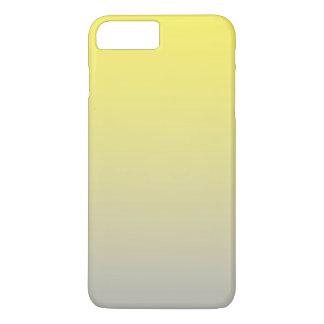 黄色及び灰色のグラデーション iPhone 8 PLUS/7 PLUSケース