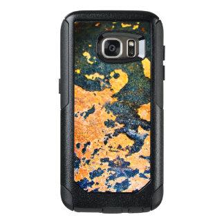 黄色及び青石のSamsungの銀河系の箱 オッターボックスSamsung Galaxy S7ケース