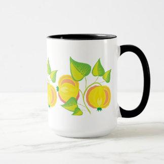黄色果実 マグカップ