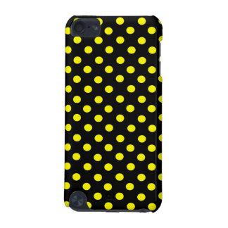 黄色点の水玉模様のipod touchの場合 iPod touch 5G ケース