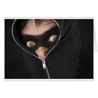 黄色目の強盗 グリーティングカード