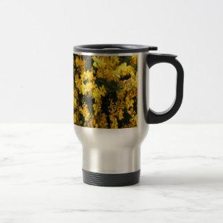 黄色鐘の花 -- 原産のオーストラリア人 トラベルマグ