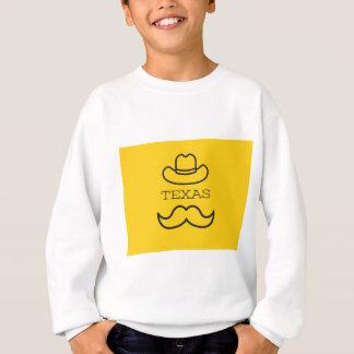 黄色2のテキサス州 スウェットシャツ