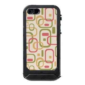 黄色、緑およびピンクの長方形 ウォータープルーフiPhone SE/5/5sケース