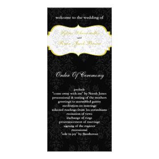 黄色|黒|結婚|プログラム