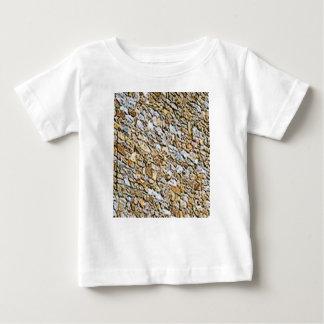黄褐色の軽い砂利の芸術 ベビーTシャツ